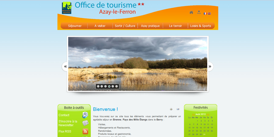 Office de Tourisme d'Azay-le-Ferron